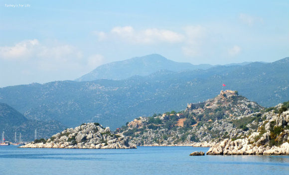 Heading Towards Kekova Island