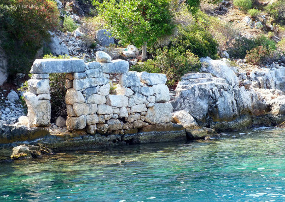 Kekova Sunken City In Turkey
