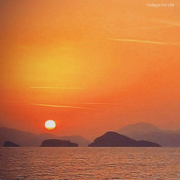 Zentara Beach Sunset In Koca Çalış