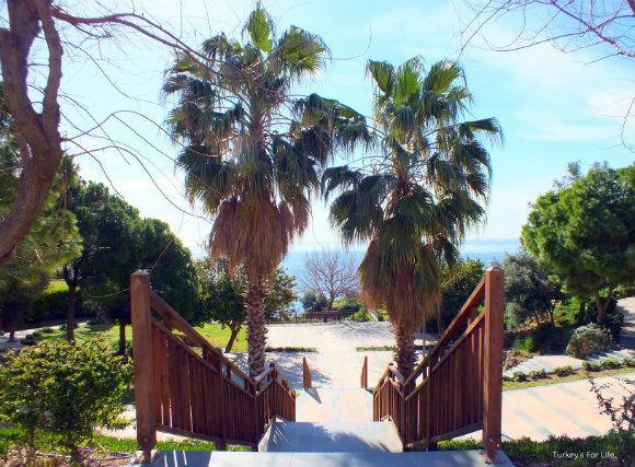 Parks along Antalya seafront
