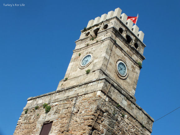 The Historic Antalya Clock Tower