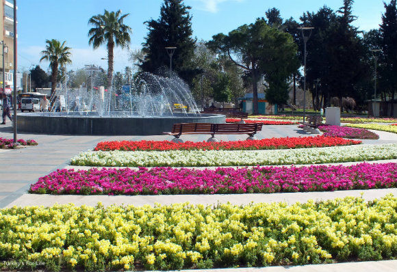 Antalya Seafront Fountain