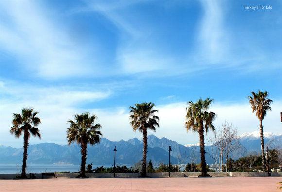 Ataturk Park Antalya Seafront