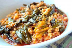 Bulgur Wheat And Ciris Otu