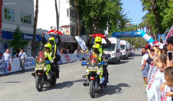 Medics At The Fethiye Start Line