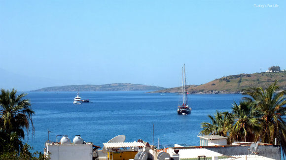 Sea Views From Ağan Pension, Bodrum