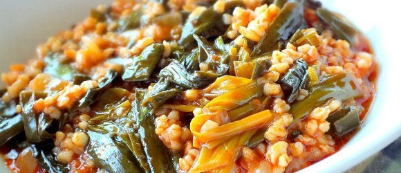 Turkish Edible Wild Plants Recipe