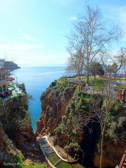 A Viewpoint Along Antalya Seafront