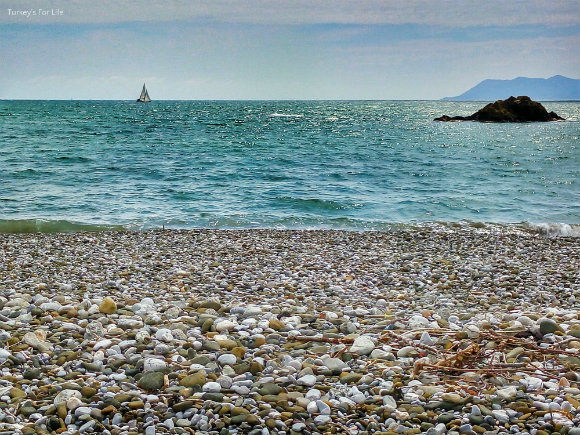 Pebbles At Karaot Beach, Fethiye