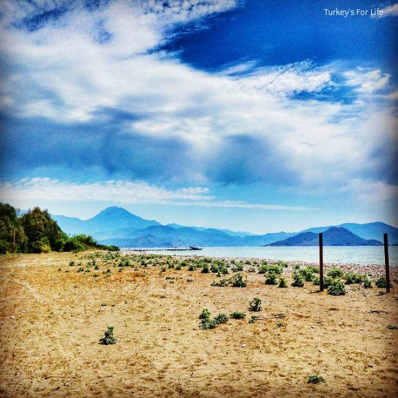Karaot Beach Near Fethiye