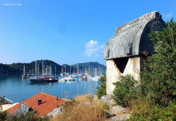 Üçağız Harbour