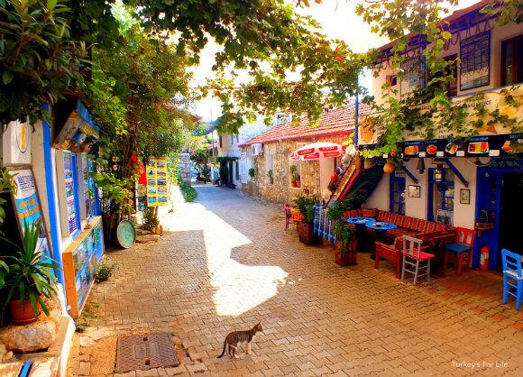Üçağız Village