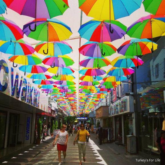 Fethiye Umbrellas 95 Sokak