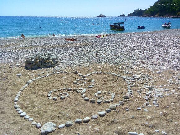 Beach At Kabak Koyu