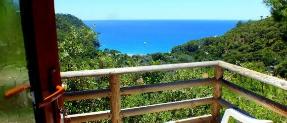 Our Balcony At Tree House, Kabak