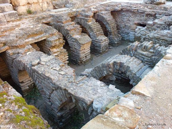 Perge Roman Baths