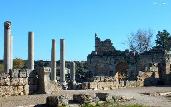 Perge Roman Gate
