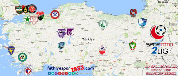 Fethiyespor Fxtures 2016-17