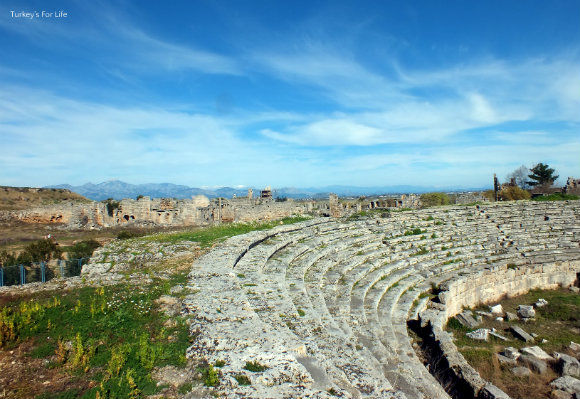 Stadium At Perge, Antalya