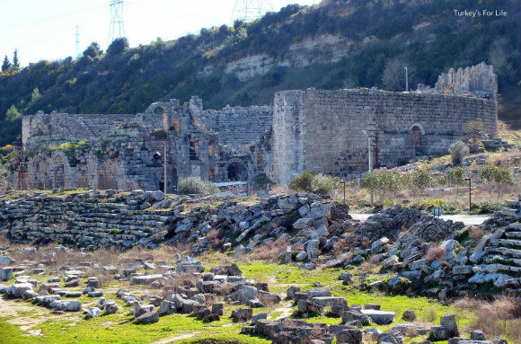 Theatre At Perge Ruins, Antalya