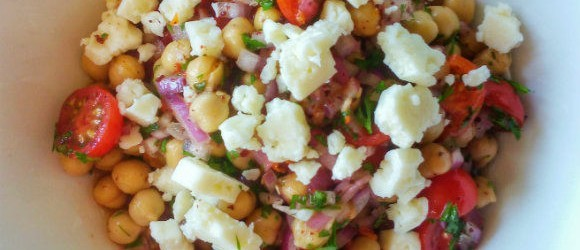 Chickpea Salad – Turkish Summery Goodness