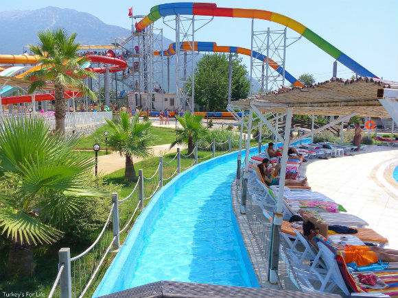 Lazy River At Ölüdeniz Water World