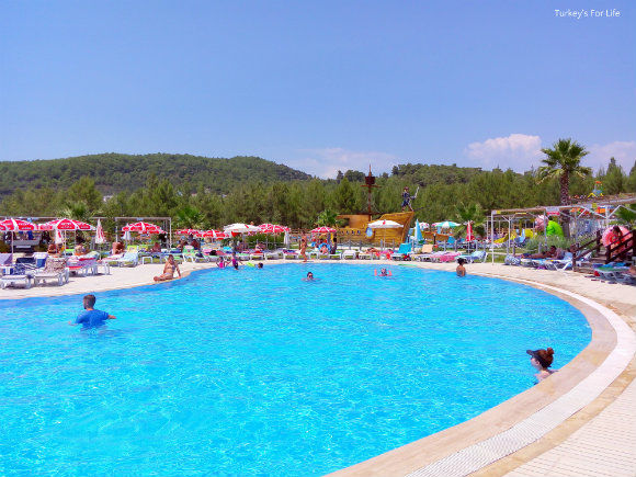 Swimming Pool At Ölüdeniz Waterworld