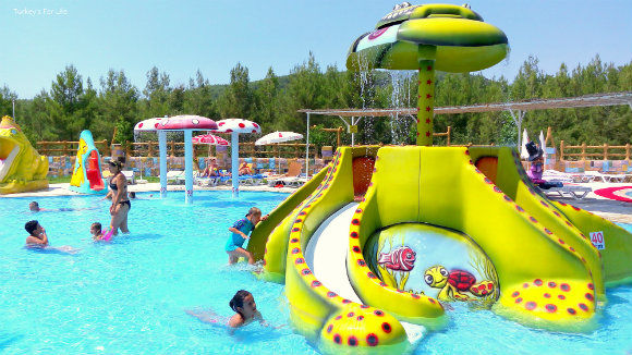 Kids' Area At Ölüdeniz Water World