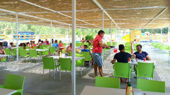 Food And Drink Area At Ölüdeniz Water World