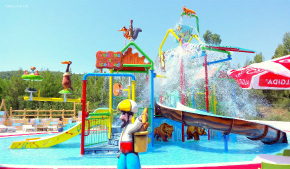 Children's Pool At Ölüdeniz Water World