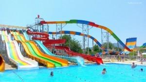 Slides At Ölüdeniz Water World