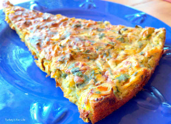 Slice Oven Baked Potato And Courgette Fritters