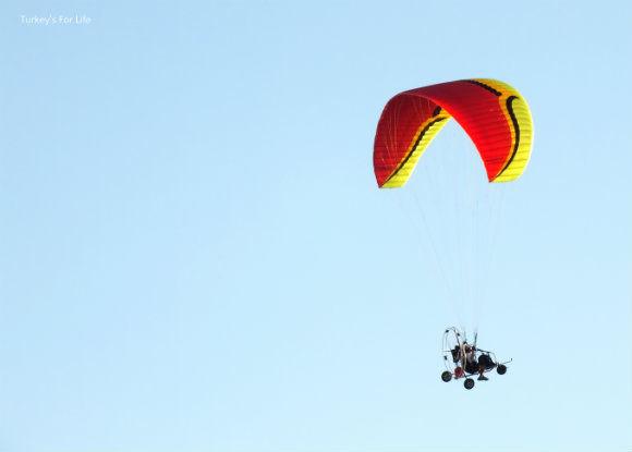 Paramotors At Ölüdeniz Air Games