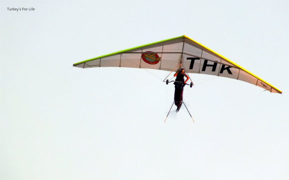 Hang Glider At The Ölüdeniz Air Games