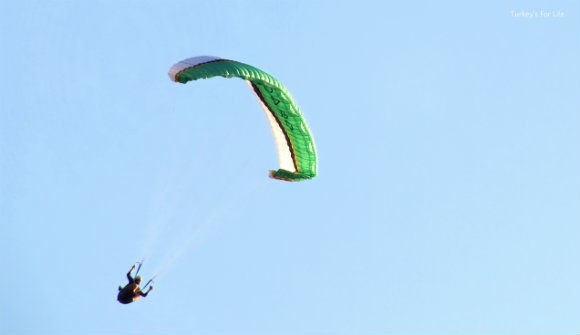 International Paraglider At Ölüdeniz Air Games