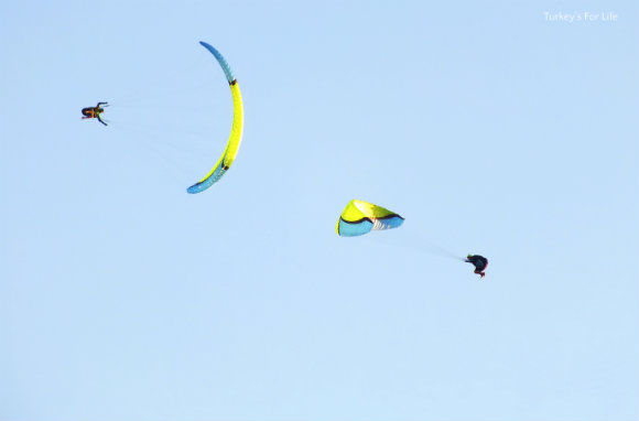Paragliding Display