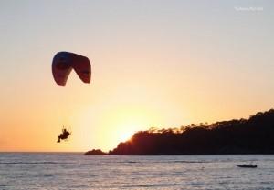 Sunset At The Ölüdeniz Air Games