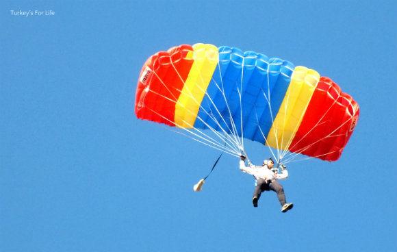 Parachutes At Ölüdeniz Air Games