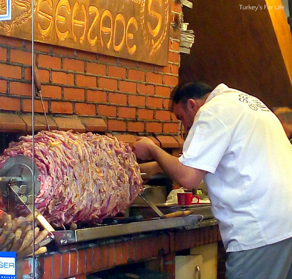 Cağ Kebabı At Şehzade, Sirkeci, Istanbul