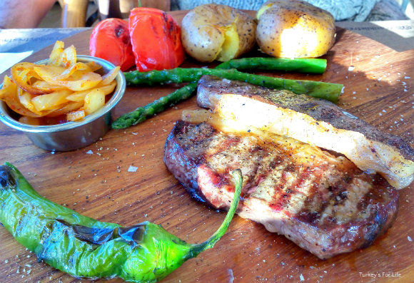 Dry Aged Beef Steak, Çarıklı Et Restaurant, Fethiye