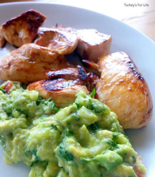Guacamole Recipe With Chicken