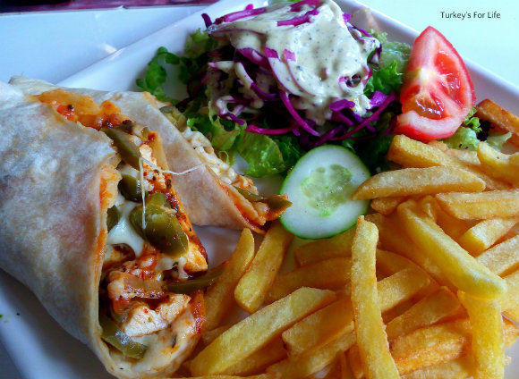 Italian Chicken Wrap At Sarge's
