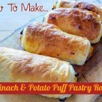 How To Make Spinach And Potato Puff Pastry Rolls