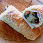 Spinach And Potato Puff Pastry Rolls – A Dream Combination