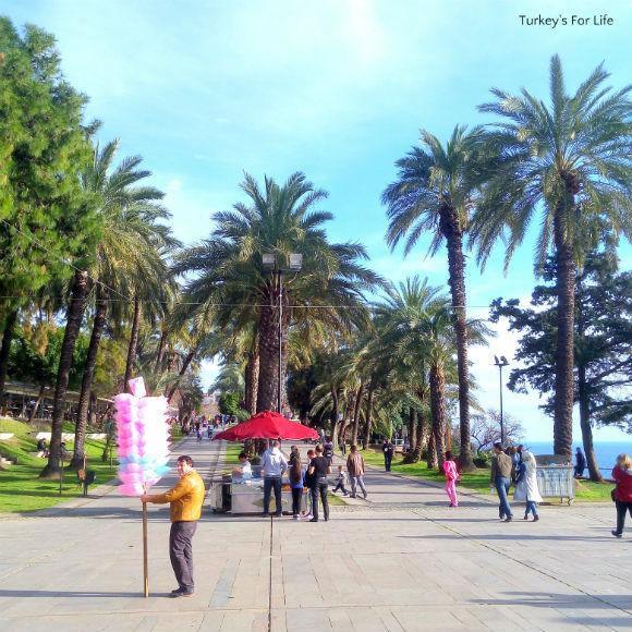 Street Trade In Karalioğlu Park