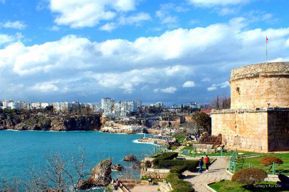 Antalya Harbour From Karaalioğlu Park