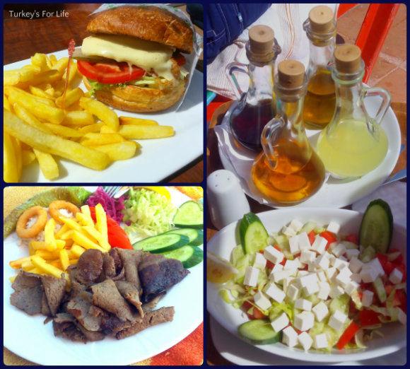 Sultan's Aqua City Food Choices