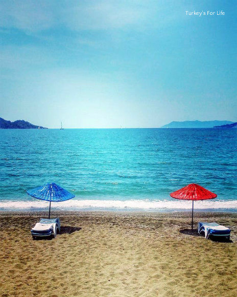 Çalış Beach On Instagram
