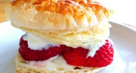 Puff Pastry Strawberry Tart Recipe – Success From Failure