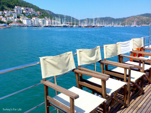 Fethiye View From Help Beach Shuttle Boat